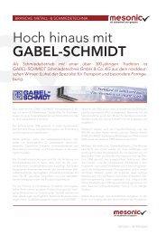 Gabel-Schmidt Schmiedetechnik - Fluctus IT GmbH