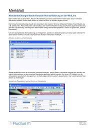 Merkblatt - Fluctus IT GmbH