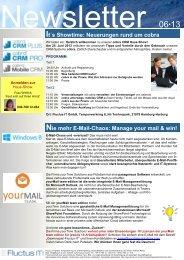 Ausgabe 06-2013 - Fluctus IT GmbH
