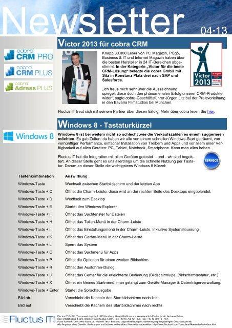Ausgabe 04-2013 - Fluctus IT GmbH