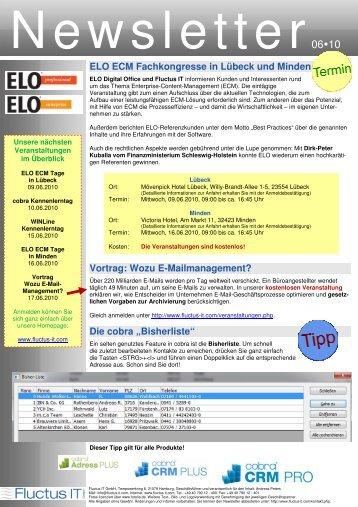 Ausgabe 06-2010 - Fluctus IT GmbH