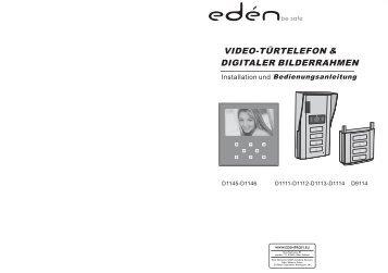 VIDEO-TÜRTELEFON & DIGITALER BILDERRAHMEN