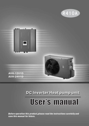 User's manual - enba Energie