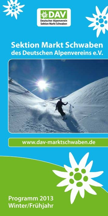 Winter 2012/2013 - DAV Markt Schwaben