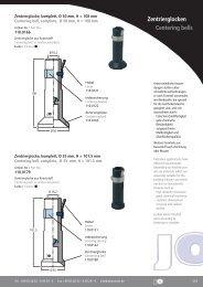 Zentrierglocken Centering bells