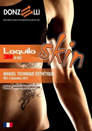 Manuel technique esthetique - Donzelli Srl