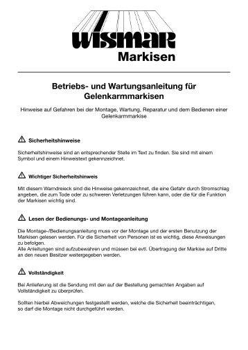 Gelenkarmmarkise - Isabella Markisen