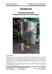 Plasma Application Note - Benezan Electronics