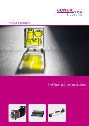 Intelligent positioning systems - GUNDA Electronic GmbH