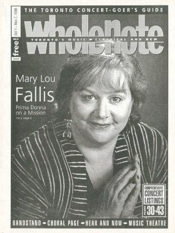 Volume 4 Issue 2 - October 1998
