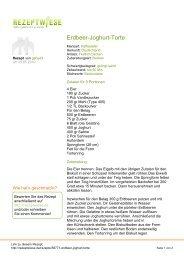 Erdbeer-Joghurt-Torte - Rezeptwiese