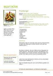 Früchte-Igel - Rezeptwiese
