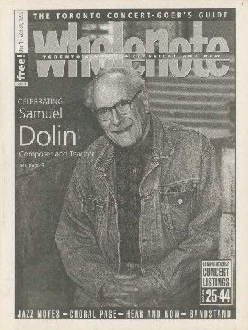 Volume 4 Issue 4 - December 1998/January 1999