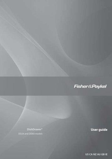 User guide - Designer Appliances