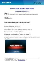 [HOW-TO] How to update BIOS for q2532_en_cht_v2 - gigabyte