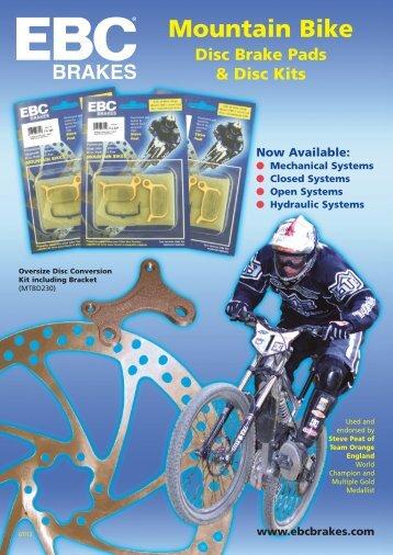 Katalog zu den Fahrradbremsen - EBC Bremsen Österreich