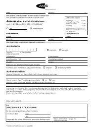 Anzeige eines Au-Pair-Verhältnisses - Au-pair Vermittlung