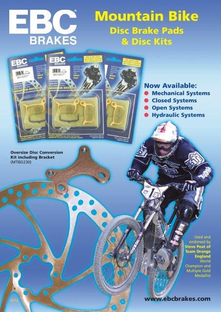2 Pairs Cycling MTB Bicycle Hydraulic Brake Pads For Magura Louise// Clara 2001