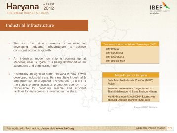 Industry in Haryana.pdf - Indian Real Estate Forum