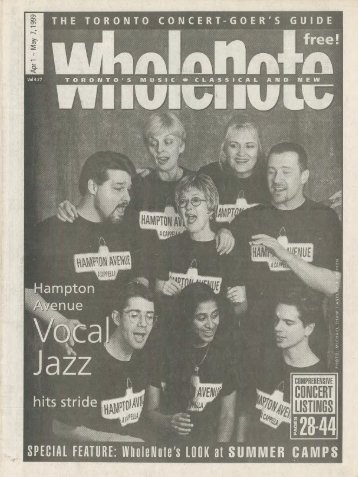 Volume 4 Issue 7 - April 1999
