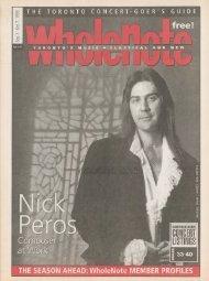 Volume 5 Issue 1 - September 1999