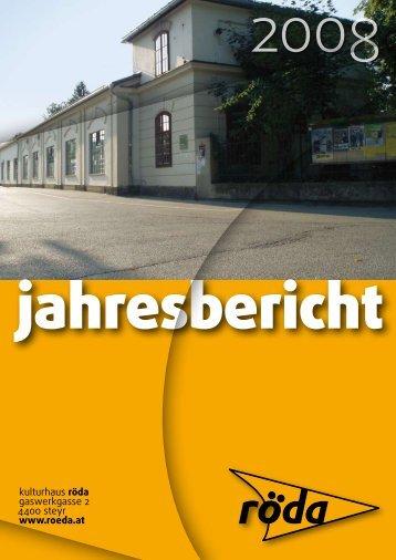 Jahresbericht 2008 - Röda