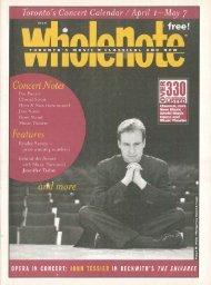 Volume 5 Issue 7 - April 2000