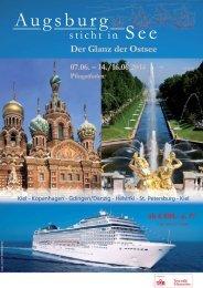 Der Glanz der Ostsee - Augsburg sticht in See