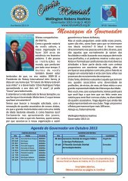 Carta Mensal N° 03 - Setembro/2013 - Distrito 4620