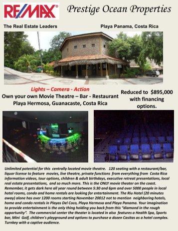 Prestige Ocean Properties - Costa Rica Property