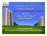 Aims Group - Indian Real Estate Forum