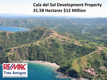 Cala del Sol Development Property 31.58 Hectares $12 Million