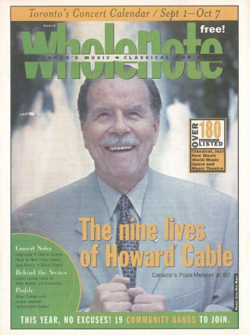 Volume 6 Issue 1 - September 2000