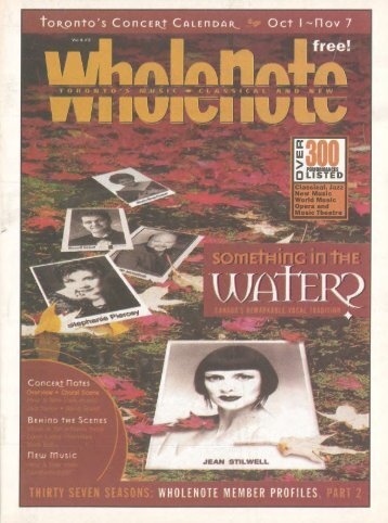 Volume 6 Issue 2 - October 2000