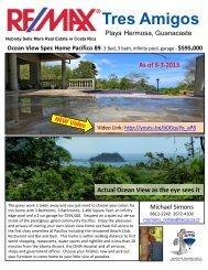 Tres Amigos - Costa Rica Property