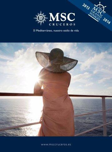 Catálogo - MSC Cruceros