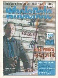 Volume 6 Issue 3 - November 2000