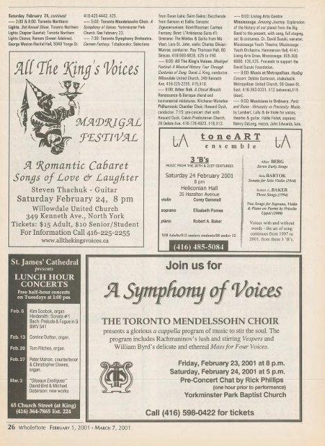 Volume 6 Issue 5 - February 2001