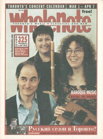Volume 6 Issue 6 - March 2001