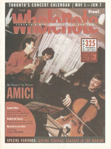 Volume 6 Issue 8 - May 2001