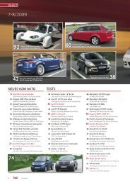 NEUES VOM AUTO TESTS - Auto-News