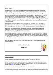 Newsletter 200908 - Bock-IT-Service