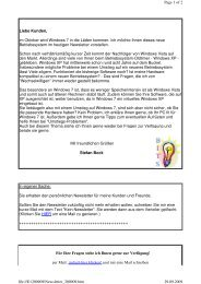 Newsletter 200909 - Bock-IT-Service