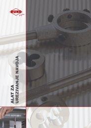 Katalog alata za urezivanje navoja