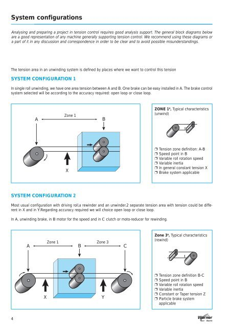 block diagram reducer system configurations warner electric block diagram reduction problems system configurations warner electric