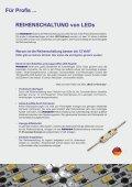 Reihenschaltung - die effektivste Betriebsart für LEDs - Hansen-LED - Seite 4