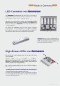 Reihenschaltung - die effektivste Betriebsart für LEDs - Hansen-LED - Seite 5