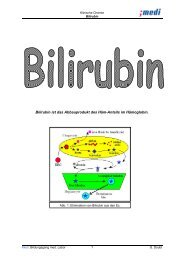 Bilirubin - Medizinisches Labor 08-11's Blog