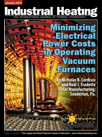 Minimizing Electrical Electrical Power Costs - Solar Manufacturing