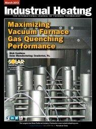 Maximizing Vacuum Furnace Gas Quenching Performance - Solar ...